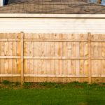 Example wood fence installed in Fort Collins