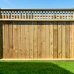 Wood privacy fence in Fort Collins